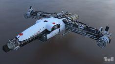 ArtStation - Iron Sky - Canadarm 3, by Tuomas Kankola More space ship here.