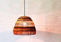 Yuta Badayala Pendants collaboration between Koskela  and weavers from Elcho Island in Arnhem Land.