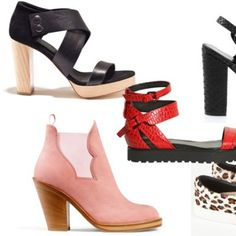 Springs 50 hottest shoes   Find dine nye sko her, hvad enten du er til de tårnhøje stiletsandaler, forårsstøvlerne eller de funky flade sko - der er noget for enhver smag og ethvert budget