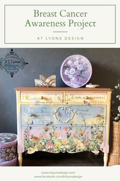 Shabby Chic Interior Design Ideas For Your Home Furniture Update, Decoupage Furniture, Hand Painted Furniture, Refurbished Furniture, Paint Furniture, Repurposed Furniture, Custom Furniture, Furniture Makeover, Furniture Design