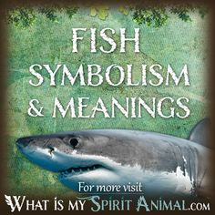 The most in-depth Fish Symbolism & Meanings! Fish as a Spirit, Totem, & Power Animal. Dream interpretation included, too! Animal Meanings, Animal Symbolism, Spirit Animal Totem, Animal Totems, Spiritual Meaning, Spiritual Enlightenment, Dream Symbols, Dream Meanings, Native American Symbols