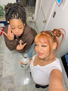 Swag Girl Style, Girl Swag, Teen Swag, Swagg Girl, Pretty People, Beautiful People, Pretty Black Girls, Black Girl Aesthetic, Cute Friends