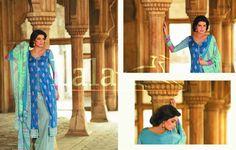 Sana Samia Summer Eid Dresses Collection By Lala Textiles 3 Sana Samia Fancy Eid Dresses Collection By Lala Textiles
