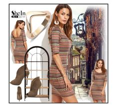"""""""Shein #1/6"""" by s-o-polyvore ❤ liked on Polyvore featuring WithChic"""
