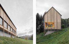 A traditional timber house by Bernardo Bader nestles in a forest landscape - News - Mark Magazine