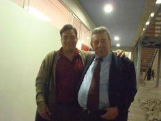 Freddie Armando Romero y político Rafael Roncagliolo. (2013)
