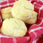Two Ingredient Homemade Cream Biscuits