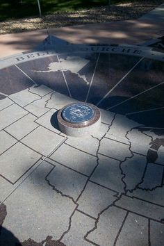 Roadside Attractions - The geographic center of the United States near Spearfish, SD