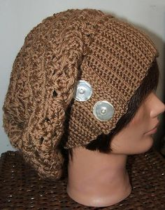 slouchy hat - free pattern