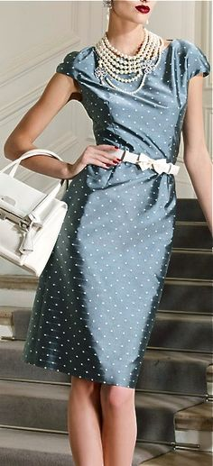 My Style: Retro #dress, Christian Dior.