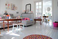 Mor til MERNEE: Smukke grå gulve....