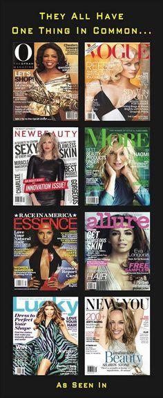FREE press!!!!!  They all LOVE Rodan and Fields products.  get it www.judymikeska.myrandf.com