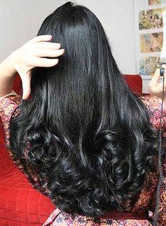New Haircut Layered Curly Natural Curls 16 Ideas Haircuts For Wavy Hair, Layered Haircuts, Cool Hairstyles, Long Dark Hair, Long Layered Hair, Long Curls, Braids For Long Hair, Beautiful Long Hair, Gorgeous Hair