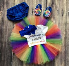 Hey, I found this really awesome Etsy listing at https://www.etsy.com/listing/488828275/rainbow-baby-outfit-newborn-rainbow-baby