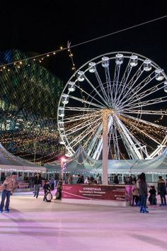 Ice rink and big wheel coming back to Birmingham for Christmas 2015 - Birmingham Mail Motorized Big Wheel, Birmingham England, Ice Rink, England Uk, Christmas 2015, Comebacks, Monster Trucks, Fair Grounds, City