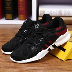 2f5b7d27b7f Men Running Shoes Breathable Comfortable Sneaker Outdoor Lightweight  Lace-Up Athletic Breathable Walking Jogging Sport For Adult