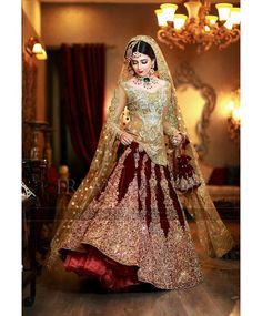 This post features designer Pakistani bridal dresses 2020 for barat day, walima, mehndi ceremony and wedding parties in the latest styles. Asian Wedding Dress, Pakistani Wedding Outfits, Asian Bridal, Pakistani Wedding Dresses, Indian Wedding Makeup, Bridal Makeup, Bridal Dresses 2018, Bridal Outfits, Bridal Gowns