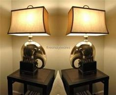elephant lamps