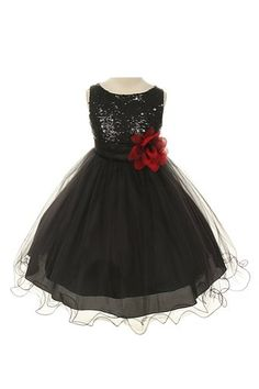Sequin Bodice Tulle Special Occasion Holiday Flower Girl Dress - Black 5-6 Kids Dream http://www.amazon.com/dp/B00FFGGVV6/ref=cm_sw_r_pi_dp_G5Wevb11MFHYT