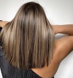 Brown Hair With Blonde Highlights, Brown Hair Balayage, Hair Color Balayage, Balayage Straight Hair, Blonde Honey, Honey Balayage, Honey Hair, Hair Color Highlights, Short Blonde