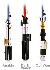 Star Wars Lightsaber Umbrellas...can't decide which one to buy