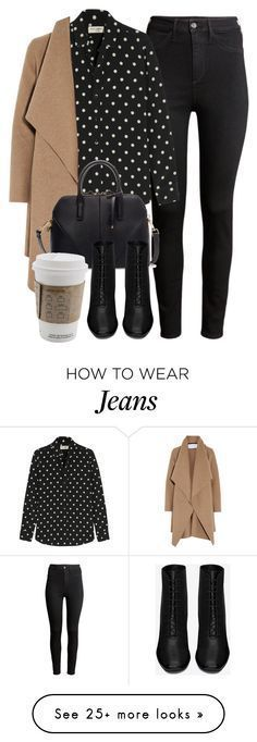Outfit perfecto con items de H&M, Yves Saint Laurent, Harris Wharf London y Zara Mode Outfits, Fall Outfits, Fashion Outfits, Womens Fashion, Outfit Winter, Fashion Hacks, Winter Outfits For Work, Fashion Clothes, Fashion Tips