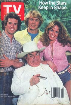 "The Cast of the ""Dukes of Hazzard"" on the cover of TV Guide - March 7, 1981"