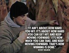 Rocky Balboa on Winning