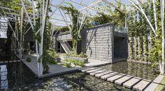 Galeria de Pérgolas Vegetalizadas / Cong Sinh Architects - 4