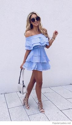 60 Trending Fall Street Style Outfits To Copy Right Now Casual Dresses, Short Dresses, Casual Outfits, Summer Dresses, Summer Skirts, Look Fashion, Fashion Outfits, Womens Fashion, Fashion Trends