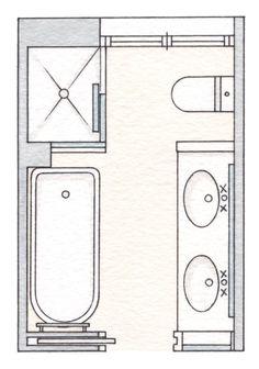 8 x 12 foot master bathroom floor plans walk in shower ...