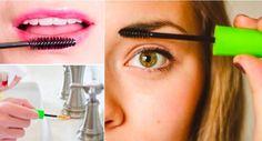 10 moyens malins de réutiliser la brosse de son mascara terminé