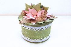 Project: Recycled Tape Roll Gift Box