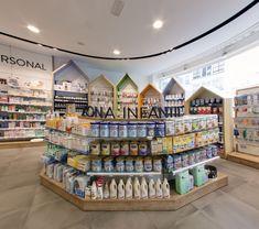 Commercial Interior Design, Commercial Interiors, Home Depot Store, Clothing Store Design, Kindergarten Design, Supermarket Design, Cosmetic Shop, Clinic Design, Display Shelves