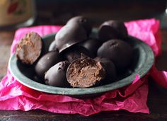 The Only Chocolate Cake Recipe You'll Ever Need-dark chocolate Truffles