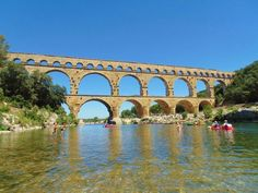@bkradbourne - #ForAnyone who loves experiencing history, the Pont Du Gard in Provence is well worth a visit.