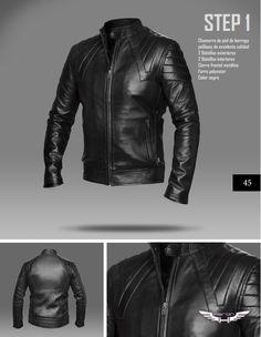 #Chaqueta modelo Step 1 #moda