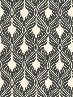 Alegria, a feature wallpaper from Today Interiors, featured in the TI Essence collection. Buy Alegria, a feature wallpaper from Today Interiors, featured in the TI Essence collection from Fashion Wallpaper. Free delivery on all UK orders. Textiles, Textile Prints, Textile Patterns, Textile Design, Fabric Design, Feature Wallpaper, White Wallpaper, Trendy Wallpaper, Fashion Wallpaper