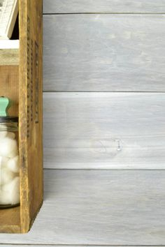 It& easy to create a whitewashed look to wood with these simple steps. Bring a rustic, weathered look to wood with the best whitewashing techniques. Whitewash Stained Wood, Stained Shiplap, White Wash Walls, Painting Shiplap, Painting Tips, Diy Concrete Countertops, White Shiplap Wall, Plank Walls, Wood Walls