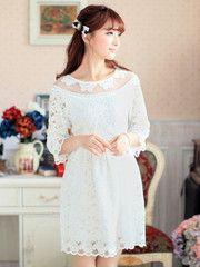 delicate damsel dress