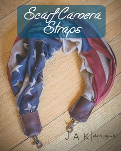 Vintage American Flag Camera Straps at www.shopjak.com Others styles available.
