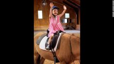 Seven-year-old Belle Swersey on her first day of riding lessons at Friends for Tomorrow in Lincoln, Massachusetts. Horse Riding Pants, Horse Riding Quotes, Horse Riding Tips, Social Communication Disorder, Verbal Communication Skills, Horseback Riding Outfits, Horseback Riding Lessons, Cerebral Palsy Symptoms, Therapeutic Horseback Riding