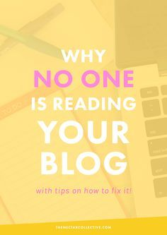 5 Reasons Why No One's Reading Your Blog (And How to Fix Them) | Having trouble growing your audience? I SO get that. After 2.5 years of blogging, these are my five best tips and reasons why your blog might not be growing.