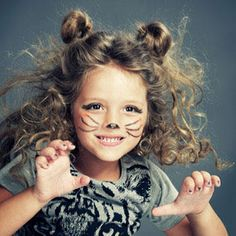 Kids' DIY Costumes For Halloween That Start With Your Makeup Bag | LUUUX