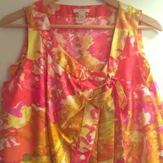 J.Crew silk tank Stunning in perfect condition. Just gorgeous!! J. Crew Tops Tank Tops
