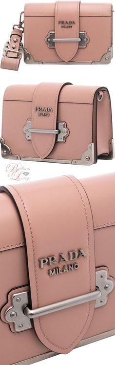 8f86f76695fb Brilliant Luxury ♢ Prada Cahier Mini shoulder bag. Wow this is super cute