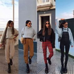 🥳bustier outfit,addidas outfit,beauty emails,plad o. Plad Outfits, Trendy Outfits, Cool Outfits, Popular Outfits, Bustier Outfit, Winter Mode Outfits, Winter Fashion Outfits, Autumn Fashion, Dr Martens Outfit