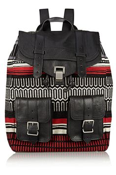 30 Perfect Bags That Make Life MUCH Easier #refinery29  http://www.refinery29.com/cute-backpack-fanny-pack-bags#slide-14