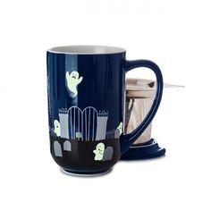 Ghost Glow in the Dark Nordic Mug (David's Tea) Halloween Kitchen, Halloween Mug, Halloween 2017, Nordic Recipe, Dream Tea, Davids Tea, Mug Shots, Tea Mugs, Tea Time