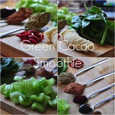 Green Cacao Smoothie - aheartyvibe.tumblr.com